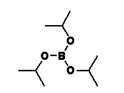 硼酸晶体结构图